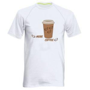 Koszulka sportowa męska More coffee