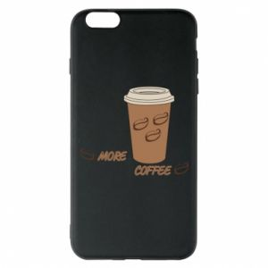 Etui na iPhone 6 Plus/6S Plus More coffee
