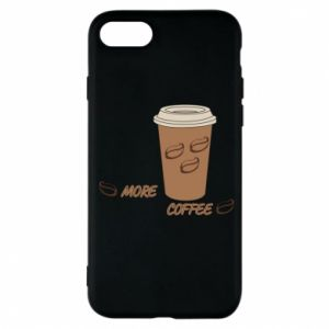 Etui na iPhone 7 More coffee