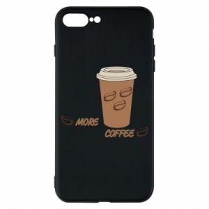 Etui do iPhone 7 Plus More coffee
