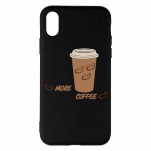 Etui na iPhone X/Xs More coffee