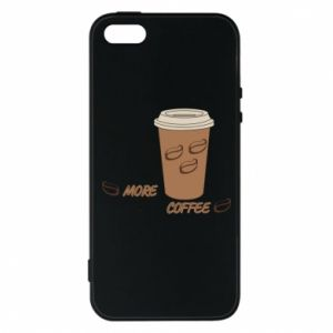 Etui na iPhone 5/5S/SE More coffee