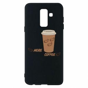 Etui na Samsung A6+ 2018 More coffee