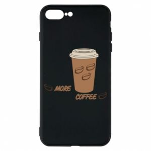 Etui na iPhone 8 Plus More coffee