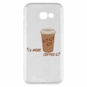 Etui na Samsung A5 2017 More coffee