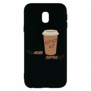 Etui na Samsung J3 2017 More coffee