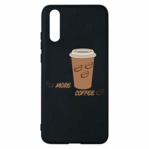 Etui na Huawei P20 More coffee