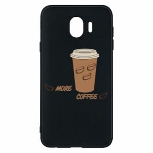 Etui na Samsung J4 More coffee