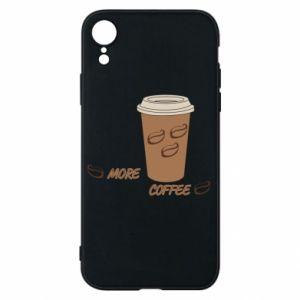 Etui na iPhone XR More coffee