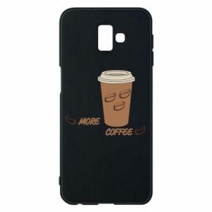 Etui na Samsung J6 Plus 2018 More coffee