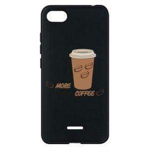Etui na Xiaomi Redmi 6A More coffee