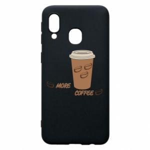 Etui na Samsung A40 More coffee