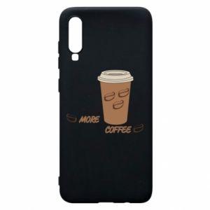 Etui na Samsung A70 More coffee