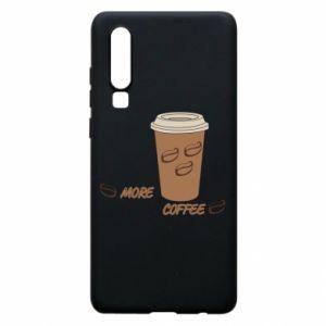 Etui na Huawei P30 More coffee