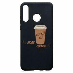 Etui na Huawei P30 Lite More coffee
