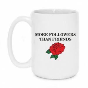 Kubek 450ml More followers than friends
