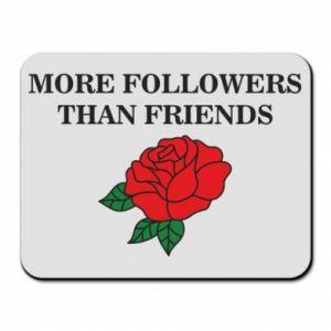 Podkładka pod mysz More followers than friends