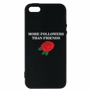 Etui na iPhone 5/5S/SE More followers than friends