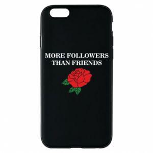 Etui na iPhone 6/6S More followers than friends