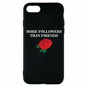 Etui na iPhone 8 More followers than friends