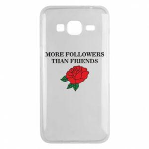 Etui na Samsung J3 2016 More followers than friends
