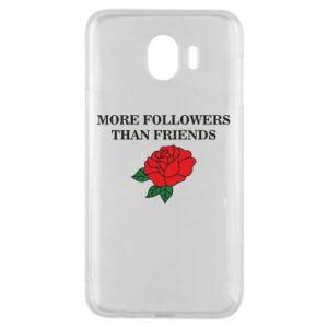 Etui na Samsung J4 More followers than friends