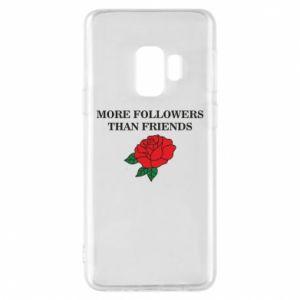Etui na Samsung S9 More followers than friends