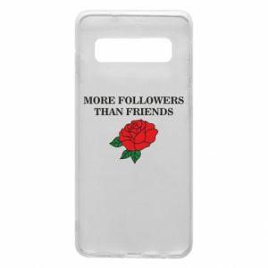 Etui na Samsung S10 More followers than friends
