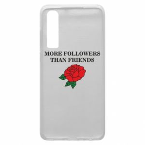 Etui na Huawei P30 More followers than friends