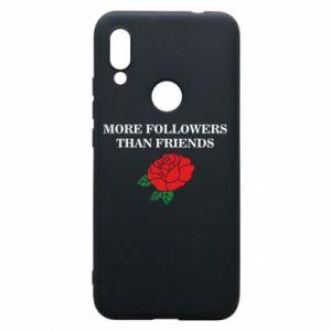 Etui na Xiaomi Redmi 7 More followers than friends