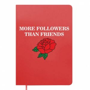 Notes More followers than friends