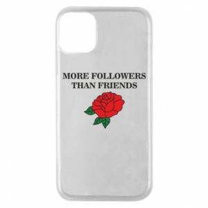 Etui na iPhone 11 Pro More followers than friends