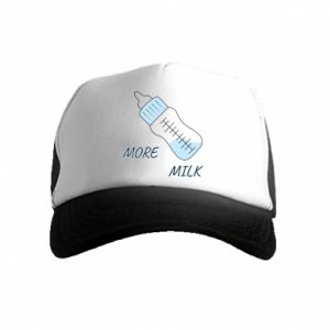Kid's Trucker Hat More milk