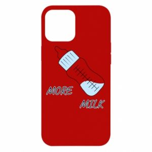 Etui na iPhone 12 Pro Max More milk