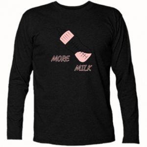Koszulka z długim rękawem More milk