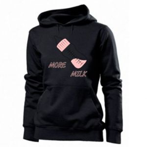 Women's hoodies More milk