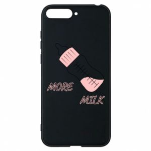 Phone case for Huawei Y6 2018 More milk