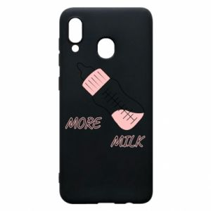 Phone case for Samsung A20 More milk