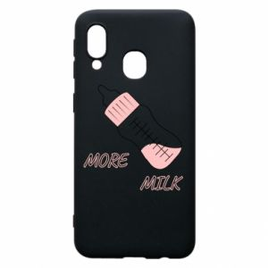 Phone case for Samsung A40 More milk
