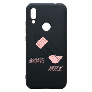 Phone case for Xiaomi Redmi 7 More milk