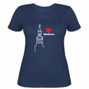 Women's t-shirt Moscow, I love you