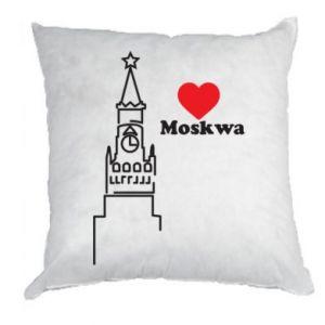 Poduszka Moskwa, kocham cię