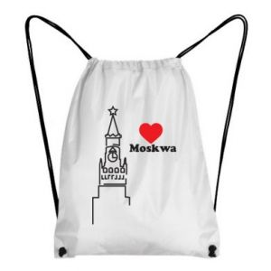 Plecak-worek Moskwa, kocham cię