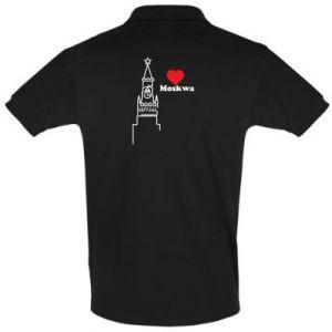 Koszulka Polo Moskwa, kocham cię