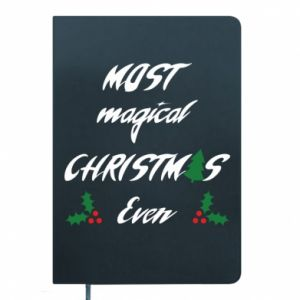 Notepad Most magical Christmas ever