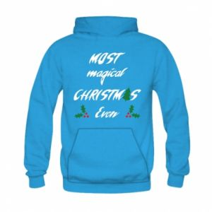 Bluza z kapturem dziecięca Most magical Christmas ever