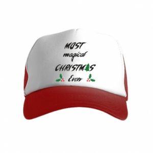 Czapka trucker dziecięca Most magical Christmas ever