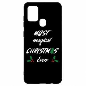 Etui na Samsung A21s Most magical Christmas ever