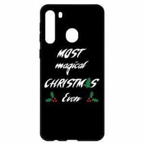 Etui na Samsung A21 Most magical Christmas ever