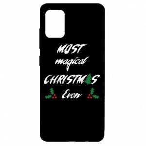 Etui na Samsung A51 Most magical Christmas ever